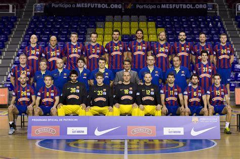 barcelona official official website of fc barcelona borges handball