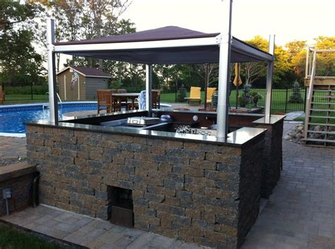 backyard bbq setup pin by hot tub things on hot tub covers lifts and steps pinterest