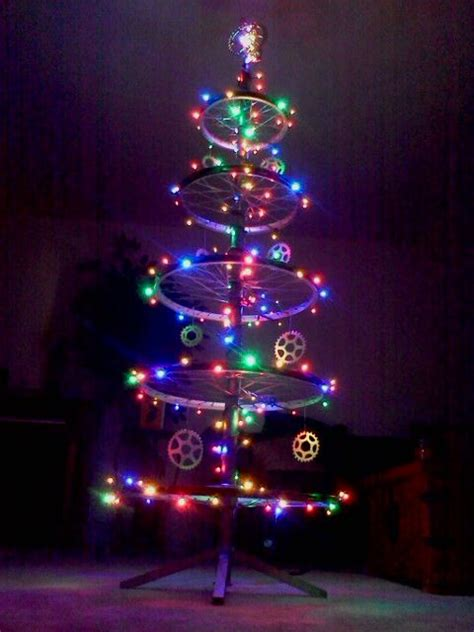 bicycles christmas trees and christmas on pinterest