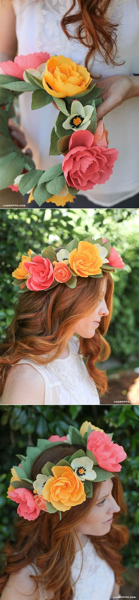 How To Make A Paper Headband - best 25 flower headbands ideas on easy to