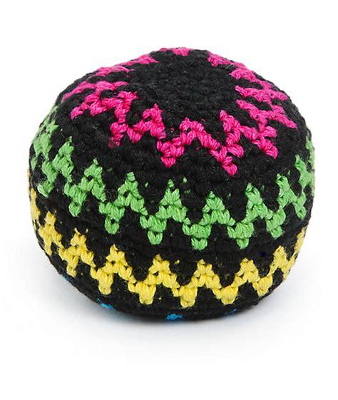 hacky sack guatemalart neon vibes hacky sack