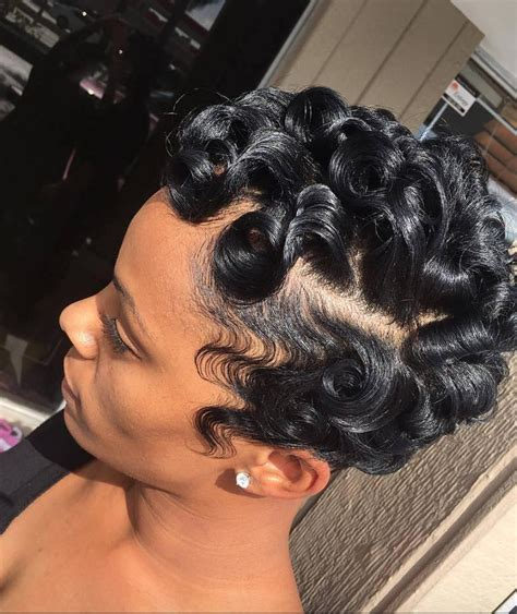 Hairstyles For Black Finger Waves by Black Finger Waves Hairstyles Fade Haircut