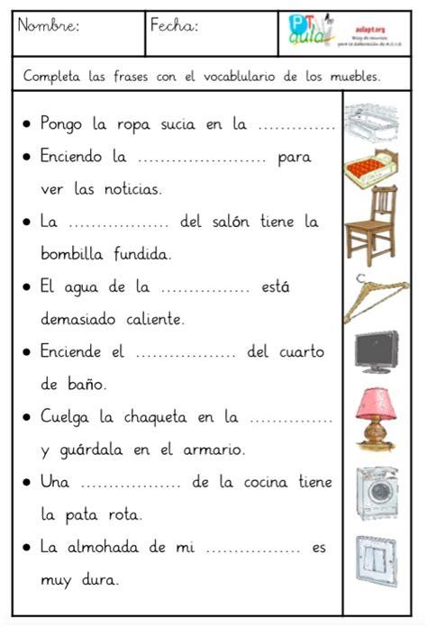 pdf libro e la cocina completa para leer ahora comprensi 243 n lectora de frases con el vocabulario de los muebles aula pt