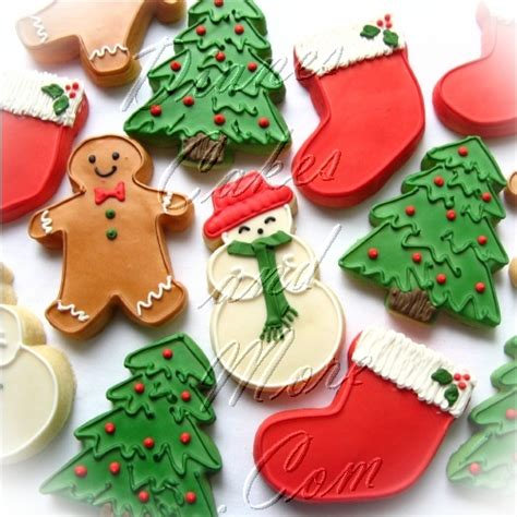 christmas snowman cookies ideas