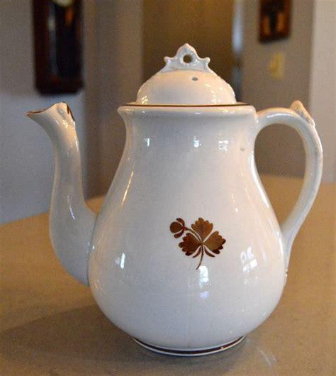 tea leaf pattern ironstone coffee tea tea pots and antiques on pinterest
