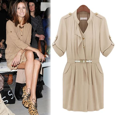 Best Seller Fashion Zara Basic Murah fashion shirt dress lace korean version and three quater sleeved take waist pink