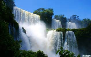 waterfalls in the world the best must see waterfalls in the world meets com