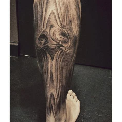 calf dotwork tattoo by allen tattoo