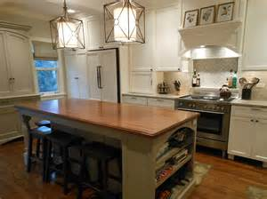 delightful Round Butcher Block Kitchen Island #3: kitchen-islands-with-seating-for-4-Kitchen-Traditional-with-Ann-Sacks-arch-butcherblock.jpg