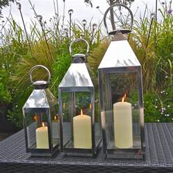 outdoor lanterns for patio st mawes hurricane garden lantern by garden trading