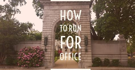Run For Office by How To Run For Political Office In 2017 Candidate Boot C