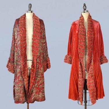 Bb Md Dress Tissue Twiscone 1920s kimono 20s tissue silk robe thin japanese jacket
