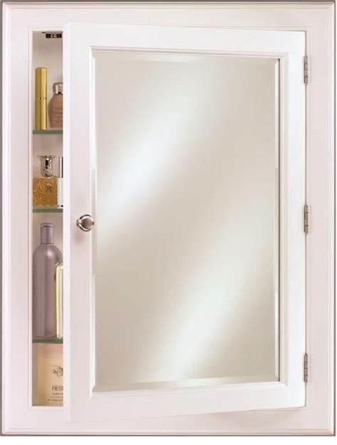 recessed white wood medicine cabinet recessed or surface mount wood medicine cabinet devon