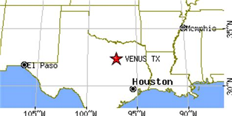 venus texas map venus texas tx population data races housing economy
