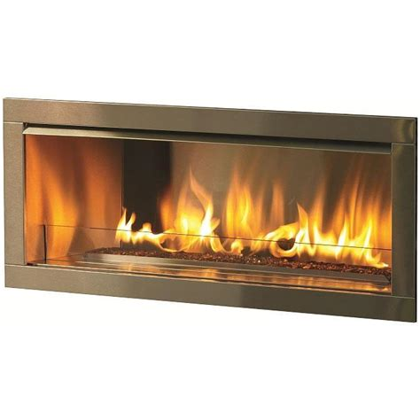 firegear od42 42 inch propane gas outdoor fireplace insert