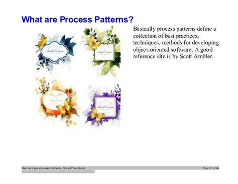 design pattern interview questions with answers top design patterns interview questions and answers job