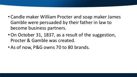Procter And Gamble Mba Schools by Procter Gamble Marketing Capabilities