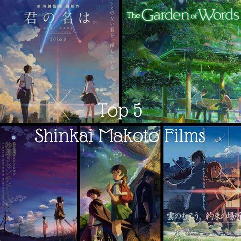 film anime karya makoto shinkai keiko s top 5 shinkai makoto films keiko s anime blog