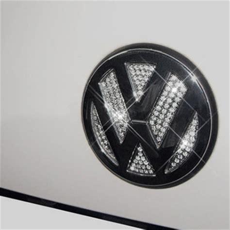 volkswagen beetle trunk in front front emblem trunk lid badge bling rhinestone