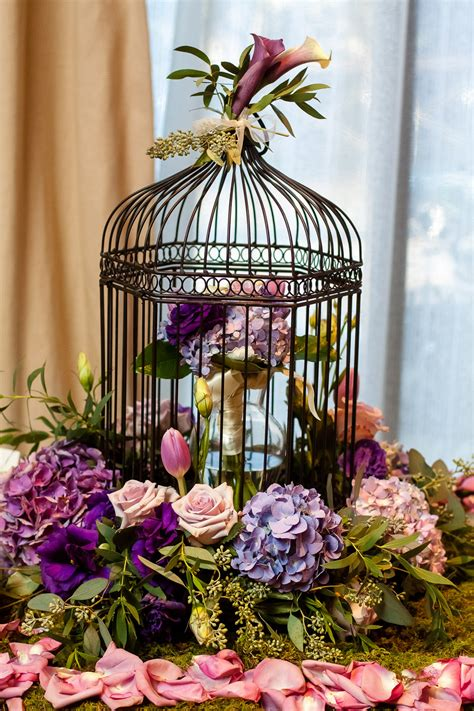 37 unique birdcage centerpieces for weddings table decorating ideas