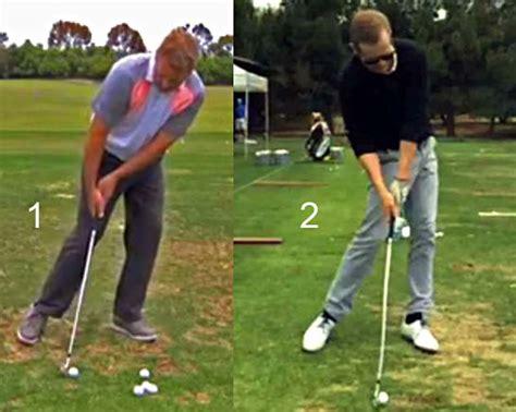 secondary axis tilt golf swing monte scheinblum video newton golf institute