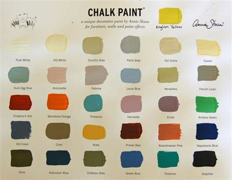 chalk paint colors colors available s abode