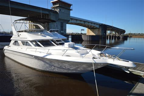 xpress boats for sale in wilmington nc 1996 sea ray 440 express bridge power boat for sale www