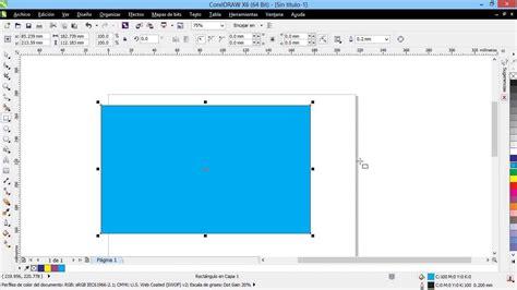 corel draw x6 rutor curso introducci 243 n a coreldraw x6 03 la ventana principal