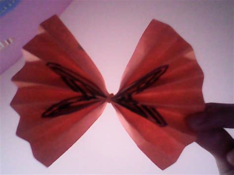 Make Paper Bows - how to make a paper bow 6 steps with pictures wikihow