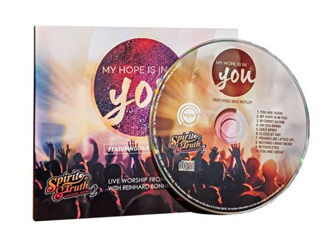 Cd My Nations for all nations my is in you live worship cd