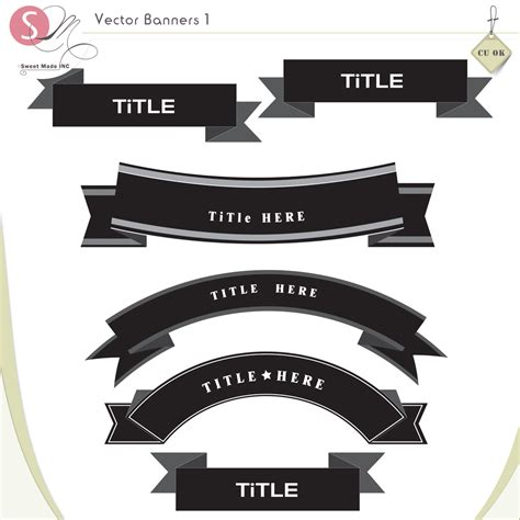 vector banners  sm vectorbanners  sweetmade