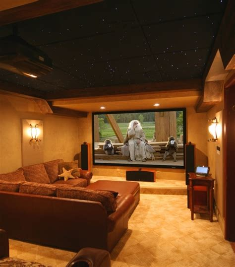 Basement Media Room | basement media room other findings pinterest