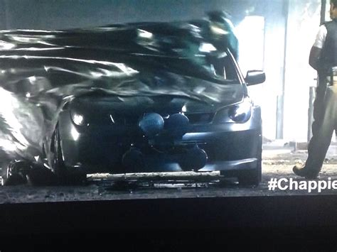 subaru chappie sweet hawkeye in the new movie chappie subaru