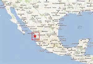 map mexico west coast teacapan sinaloa