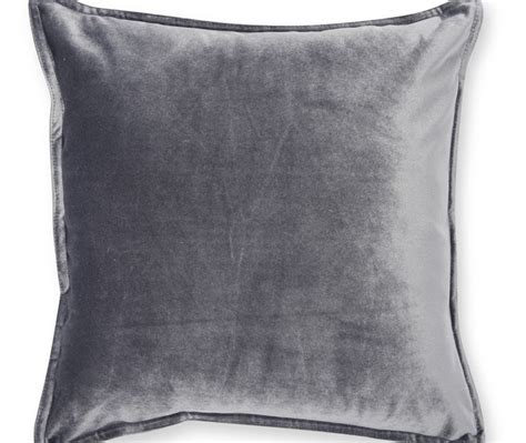 Large Floor Cusions A Best Looking Charcoal Velvet Cushion For Enhancing Your