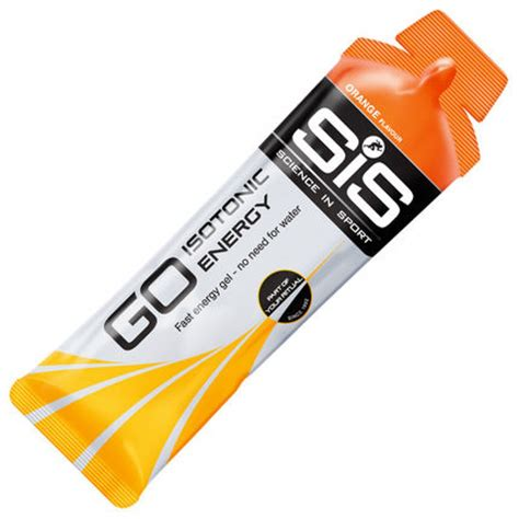 Energys Energy Gel by Science In Sport Sis Go Isotonic Energy Gel 5 X 60ml