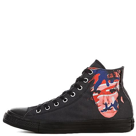 Converse Ct Andy Warhol converse andy warhol ct hi unisex black casual lace up