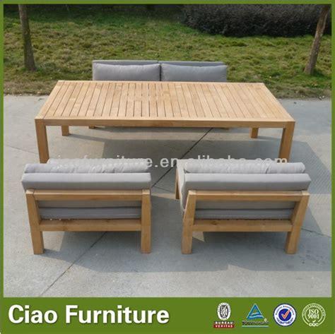 wooden garden sofa sets patio sofa teak wood sofa set outdoor furniture buy