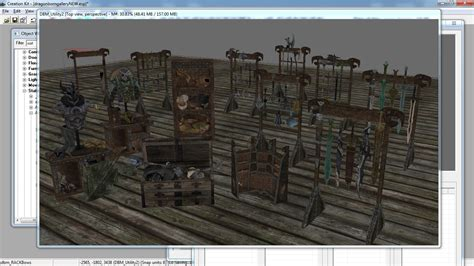 havok mod skyrim mod project havok truestatic display model resource at