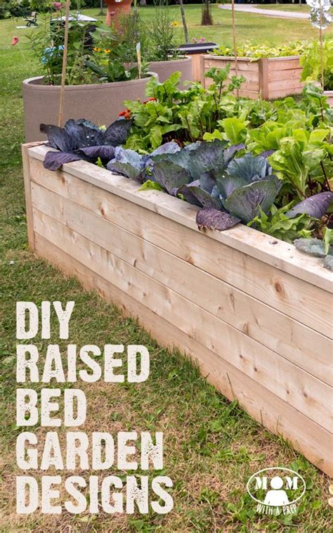 Garden Bed Design Ideas 9 Diy Raised Bed Garden Designs And Ideas Gardens