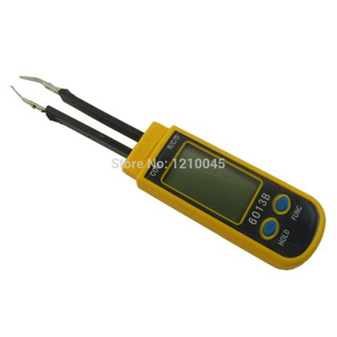 diode capacitance rc smd smart multimeter diode capacitance resistance tweezers meter vc6013b in other measuring