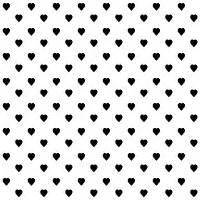 heart pattern wallpaper black and white white heart black background clipart panda free