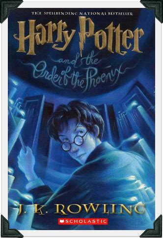 harry potter and the order of the book report harry potter book order of the pdf bonblogs
