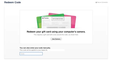 Itune Gift Card Redeem - itunes 11 features awesome option to redeem gift cards with camera
