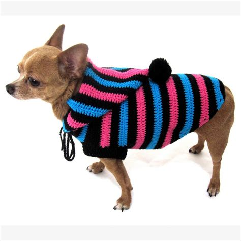 Hoodie The Doc 46 Fy51 hoodie cotton unisex pet clothing stripes black