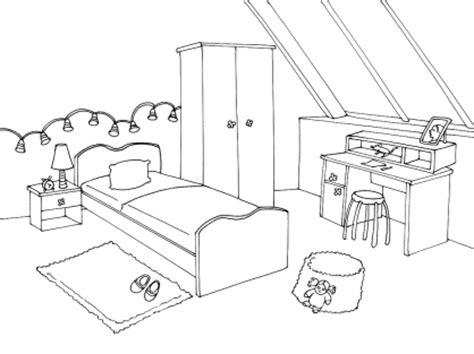 dessin chambre d enfant chambre ado dessin id 233 es de d 233 coration et de mobilier