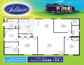 Solitaire Homes Floor Plans Spacious Double Wide Manufactured Floorplans In New Mexico