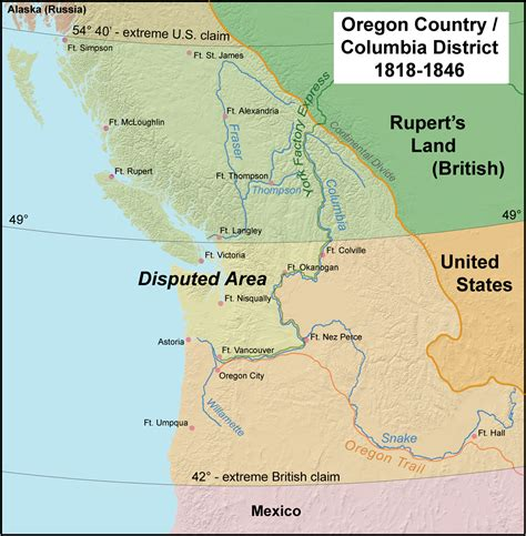 Or Wiki Oregon Treaty