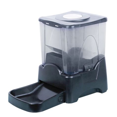 Automatic Cat Feeder Australia automatic pet feeder pet feeder 10l large automatic digital pet feeder cat blk