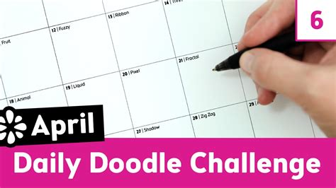 daily doodle calendar 2013 april daily doodle challenge sea lemon